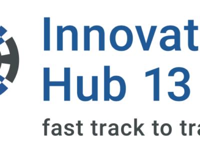 Logo-Schriftzug Innovation Hub 13