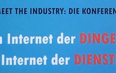 meet the industry: Vom Internet der Dinge zum Internet der Dienste am 17.05.2018