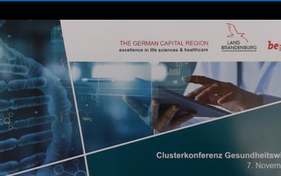Clusterkonferenz Gesundheitswirtschaft – Auf dem Weg zu einem neuen Masterplan