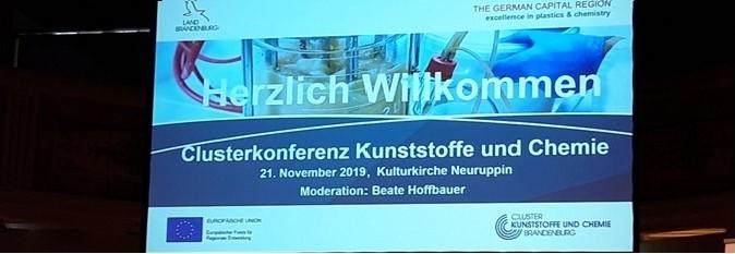 Clusterkonferenz Kunststoffe und Chemie 2019