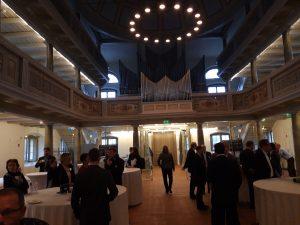 Impression von der Clusterkonfernz Kunststoffe und Chemie 2019 in der Kulturkirche Neuruppin