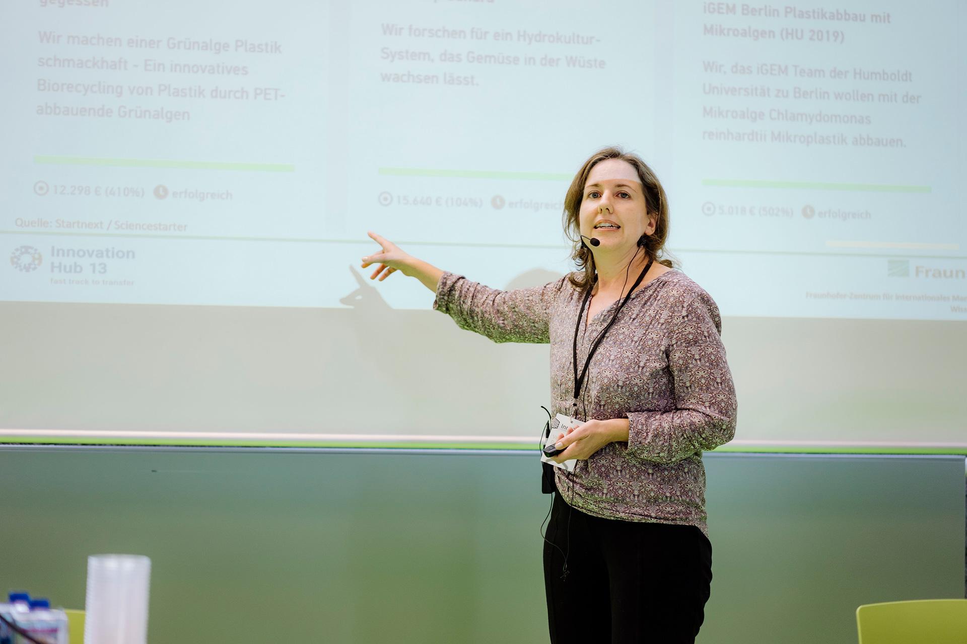 """Science Crowdfunding"" Valerie Daldrup, Fraunhofer IMW"