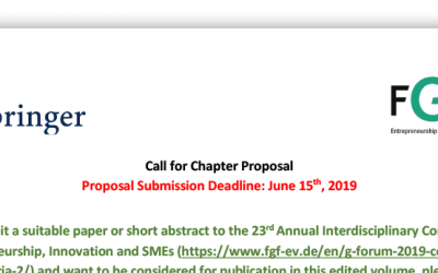 Call for Chapter Proposal — New Perspectives in Technology Transfer