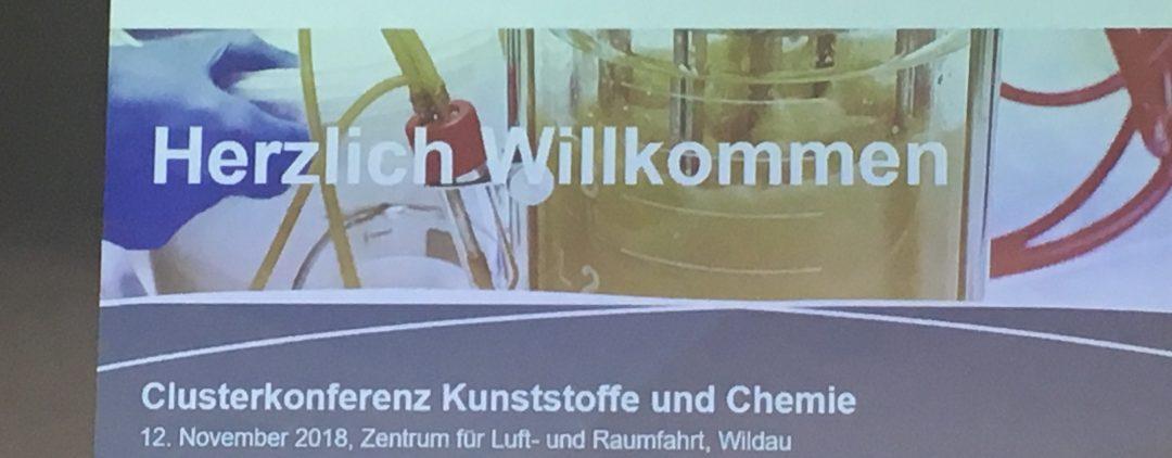 Nachhaltigkeit als Innovationstreiber auf der Clusterkonferenz Kunststoffe und Chemie