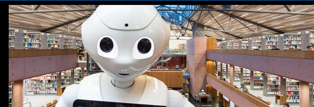 """Bibliotheksroboter Wilma gewinnt den 3. Platz bei der """"Hochschulperle des Jahres"""""""